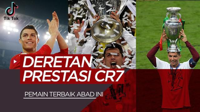 Berita video TikTok Bola.com: Deretan Prestasi Cristiano Ronaldo, Pemain Terbaik Abad 21