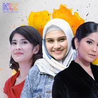 Dian Sastrowardoyo, Zee Zee Shahab dan Annisa Pohan tak hanya rupawan, namun juga berhasil menuntaskan pendidikan hingga S2. (DI: Muhammad Iqbal Nurfajri/Bintang.com)