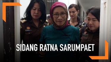 Sidang digelar di Pengadilan Negeri Jakarta Selatan, Selasa (12/3/2019). Dalam menghadapi persidangan kali ini, Ratna mengaku tidak ada perisapan khusus.