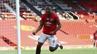 Anthony Martial Hat-trick saat MU menghajar Sheffield United di Liga Inggris (AP)