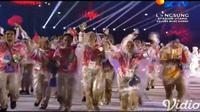 Closing Ceremony Asian Games 2018, para relawan ikut berparade