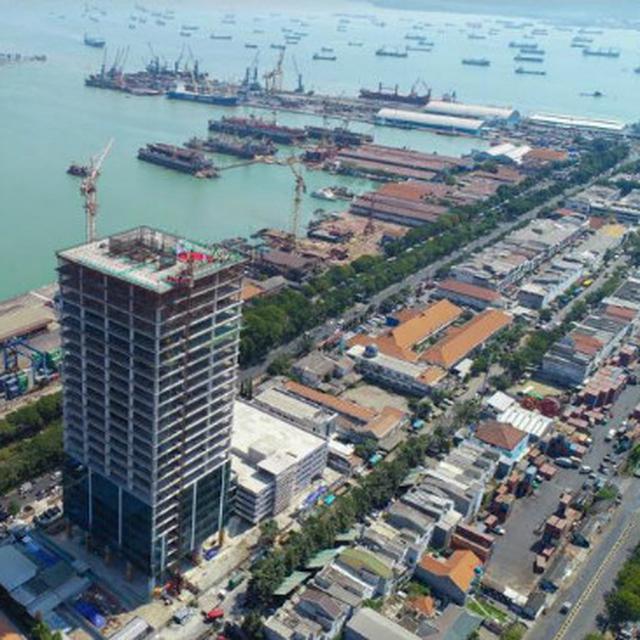 Investasi Rp 400 Miliar Pelindo Iii Bangun Tower Poros