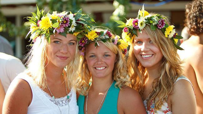 Ilustrasi kaum wanita Swedia. (Sumber Flickr/Peter Salanki)