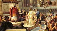 Lukisan yang menggambarkan Ratu Sheba karya Giovanni De Min 1789–1859 (Wikipedia/Public Domain)