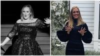 Adele unggah potret dirinya makin langsing tepat di hari lahirnya ke 32 tahun. (Sumber: Instagram/@adele)