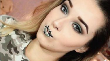 Sambut HUT TNI ke-72 dengan 3 Inspirasi Camo Makeup Ini