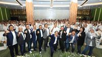 Sosialisasi yang dilakukan karyawan Bank BRI dilaksanakan di Gedung BRILian Center Kantor Pusat BRI, Jakarta, Selasa (11/2).