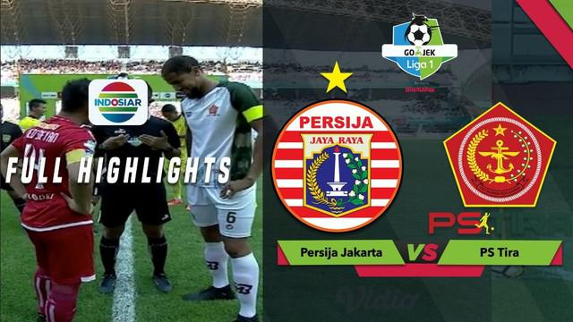 Berita video highlights lanjutan Gojek Liga 1 2018 bersama Bukalapak antara Persija Jakarta melawan PS Tira yang berakhir dengan skor 0-0, Sabtu (10/11/2018).