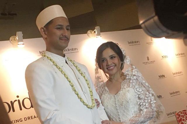 Tasya dan Randi resmi menikah hari ini/copyright vemale.com/Anisha SP