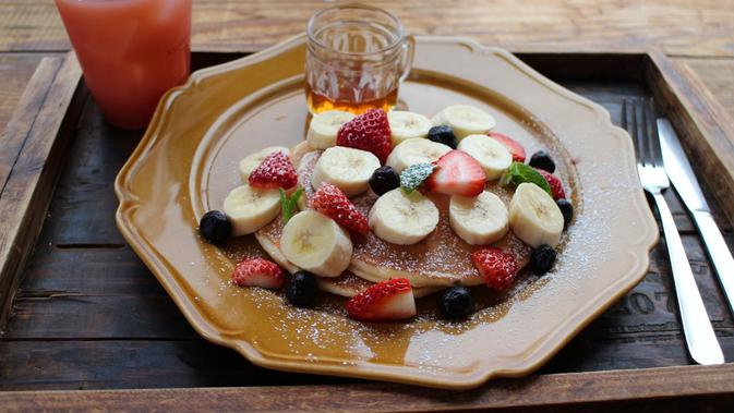 Ilustrasi sarapan. (dok. Natalie/Pexels/Brigitta Bellion)