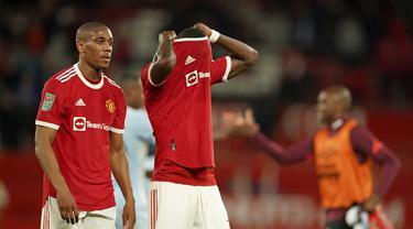 Anthony Martial - Manchester United - MU - Piala Liga Inggris