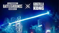 PUBG Mobile kolaborasi dengan Godzilla vs Kong. (Doc: PUBG Mobile)