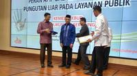 Menko Pulhukam Wiranto mengapresiasi Kemendikbud yang merespons cepat terkait pemberantas pungli.