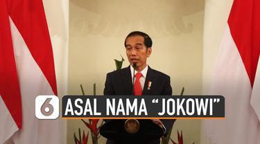 Presiden Joko Widodo kerap kali dipanggil dengan Jokowi. Dari channel YouTube Jokowi dijelaskan asal mula nama tersebut.