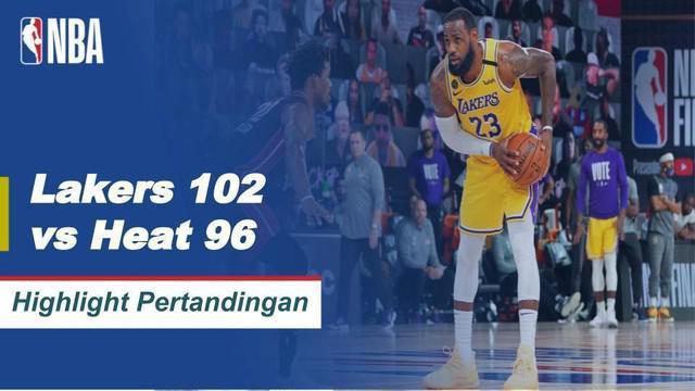 Berita Video LA Lakers kembali menangkan gim keempat melawan Miami Heat