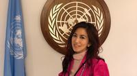 Dokter Sonia Wibisono di kantor PBB, New York (ist)
