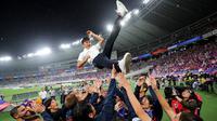 Takefusa Kubo saat dilepas pemain FC Tokyo jelang gabung dengan Real Madrid (as.com)
