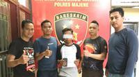 Tim Passaka Polres Majene berhasil menangkap pelaku penyebaran berita hoax