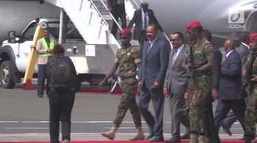 Setelah konflik panjang selama 22 tahun, akhirnya pimpinan Eritrea mengunjungi Ethiopia untuk pertama kalinya.