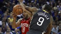 Houston Rockets vs Golden State Warriors (AP Photo/Ben Margot)