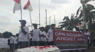 Demo mendesak DPR membentuk pansus Jiwasraya