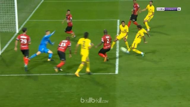 Berita video assist dan gol pertama Neymar untuk Paris Saint-Germain (PSG) saat menghadapi Guingamp. This video presented by BallBall.