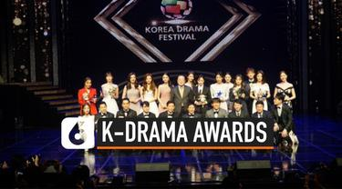 Ajang penghargaan Korea Drama Awards 2019 baru saja digelar Gyeongnam Culture & Art Center di Jinju. Kim Dong Wook raih sebagai aktor terbaik tahun ini.