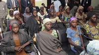 Anak Perempuan Korban Penculikan Boko Haram (Sunday Aghaeze/AP)