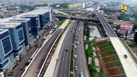 Kementerian Pekerjaan Umum dan Perumahan Rakyat (PUPR) tengah menyelesaikan tahap akhir pembangunan Jalan Tol Cengkareng-Batu Ceper-Kunciran sepanjang 14,19 km. (Dok Kementerian PUPR)