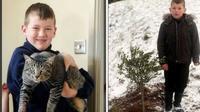 Kucing yang telah dikuburkan oleh satu keluarga, tiba-tiba kembali ke rumah.