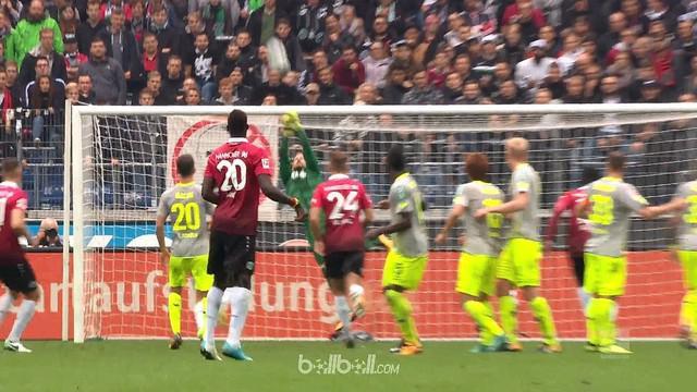 Berita video highlights Bundesliga 2017-2018 antara Hannover melawan Koln dengan skor 0-0. This video presented by BallBall.