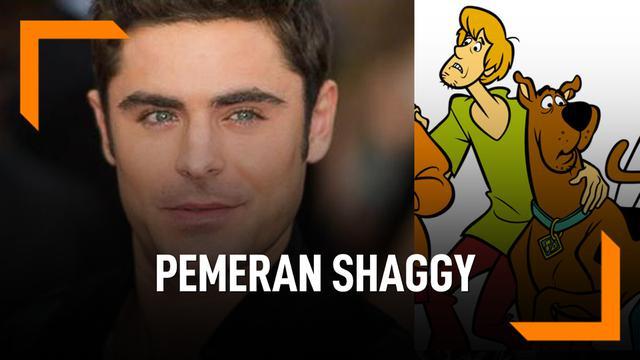 Zac Efron Akan Berperan Jadi Shaggy di Film Scooby Doo