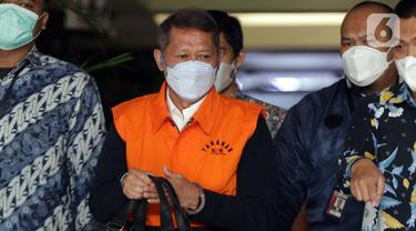 Mantan Dirut PT Pelindo II RJ Lino Ditahan KPK