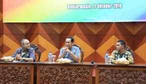 Gubernur Kalimantan Selatan, Sahbirin Noor, ingin menjadikan momentum Hari Pangan Sedunia (HPS) untuk mengoptimalisasi lahan pertanian di sana.
