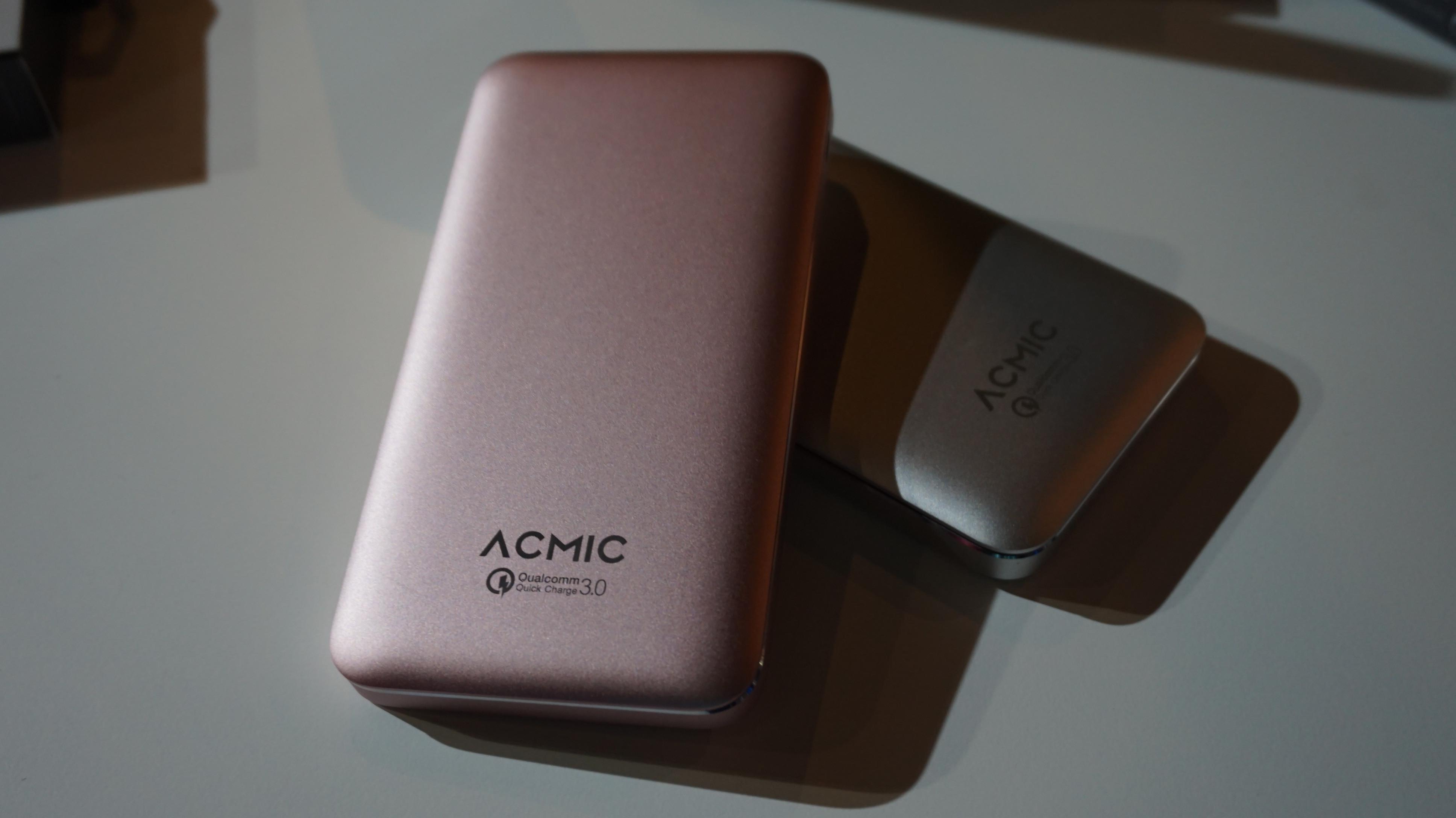 Power bank premium Acmic A10PRO (Liputan6.com/ Agustin Setyo W)
