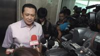Bambang Soesatyo anggota Partai Golkar dari kubu Munas Bali (Liputan6.com/Andrian M Tunay)