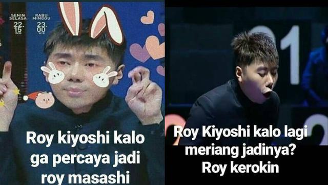 meme lucu roy kiyoshi