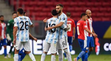 Argentina Bungkam Paraguay