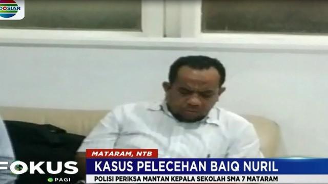 Muslim diperiksa selama delapan jam di ruang Penyidik Direktorat Reserse Kriminal Umum Polda NTB. Muslim suharusnya diperiksa hari Rabu ini.