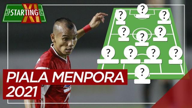 Berita motion grafis Starting XI terbaik Piala Menpora 2021, didominasi pemain Persija Jakarta.