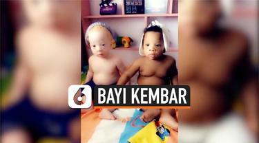 vertical bayi kembar