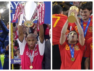 FOTO: 6 Pemain Elite yang Kantongi Gelar Liga Champions, Liga Inggris, dan Piala Dunia: Ada N'Golo Kante