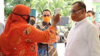 Pelaksana tugas (Plt) Wali Kota Medan, Akhyar Nasution, mengingatkan kepada seluruh warganya agar waspada. Juga tidak boleh main-main atau menyikapinya dengan sepele
