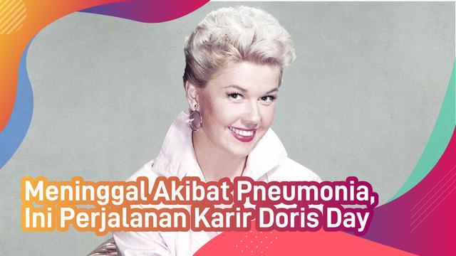 Meninggal Akibat Pneumonia, Ini Perjalanan Karir Doris Day