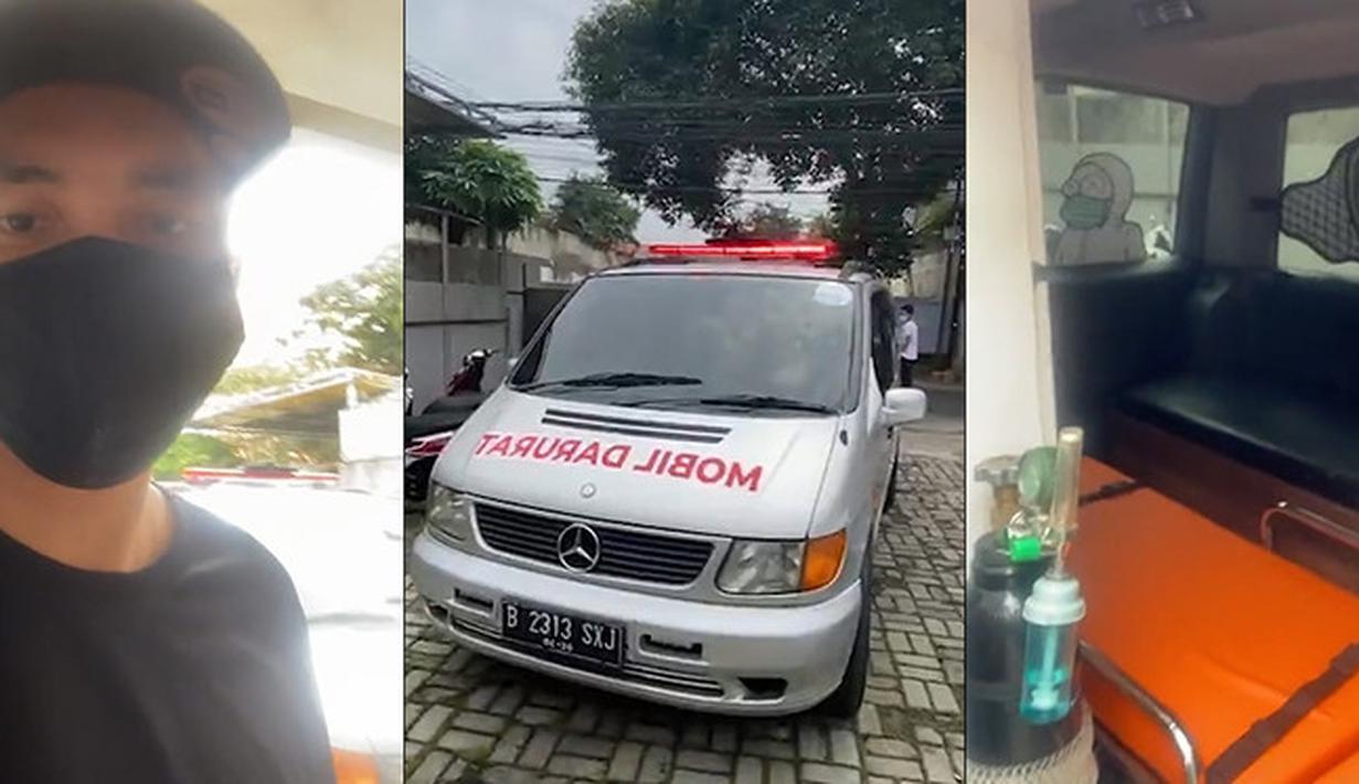 Mobil Darurat Ananda Omesh (Instagram/omeshomesh)