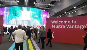 Gelaran acara Telstra Vantage di Melbourne, Australia. Liputan6.com/ Ilyas Istianur Praditya