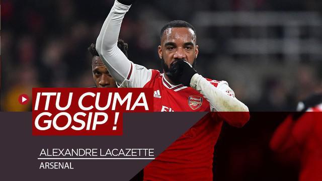 Berita Video Alexandre Lacazette Tanggapi Rumor Hengkang dari Arsenal