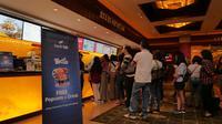 Kali ini, bjb WideSCREEN mengajak masyarakat Jakarta dan sekitarnya untuk menyaksikan keseruan film Men in Black: International. Acara nonton bareng diselenggarakan di XXI Plaza Senayan, Jakarta, Sabtu (22/5/2019).
