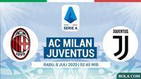 Serie A - AC Milan Vs Juventus (Bola.com/Adreanus Titus)