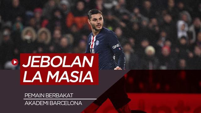 Berita motion grafis 5 pemain berbakat La Masia yang bermain diluar Barcelona.